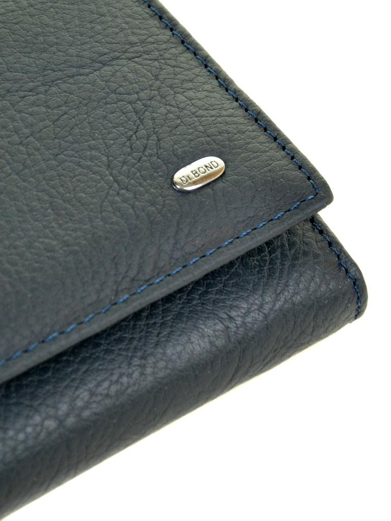 Кошелек Classic кожа DR. BOND W807 dark-blue