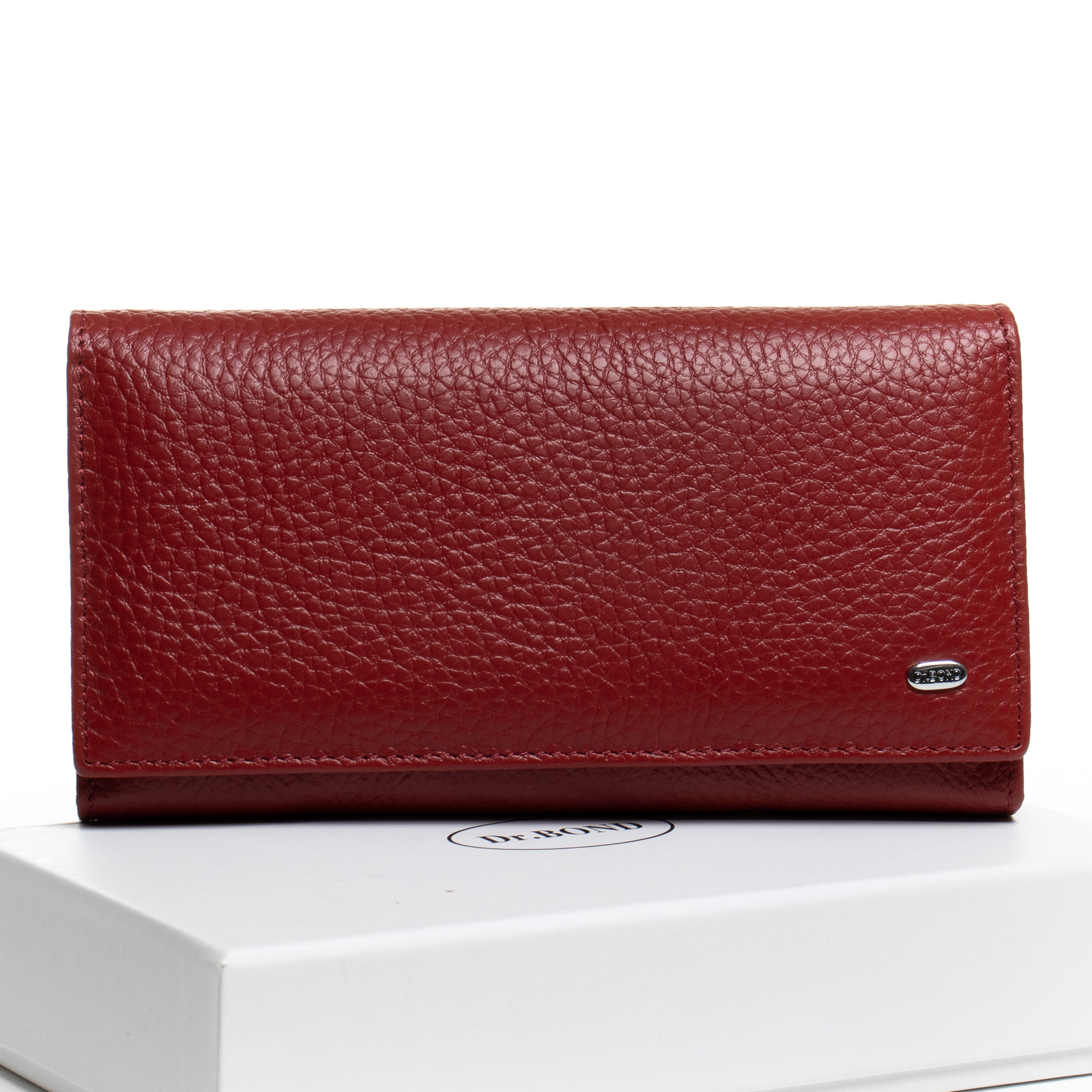 Кошелек Classic кожа DR. BOND W46-2 red