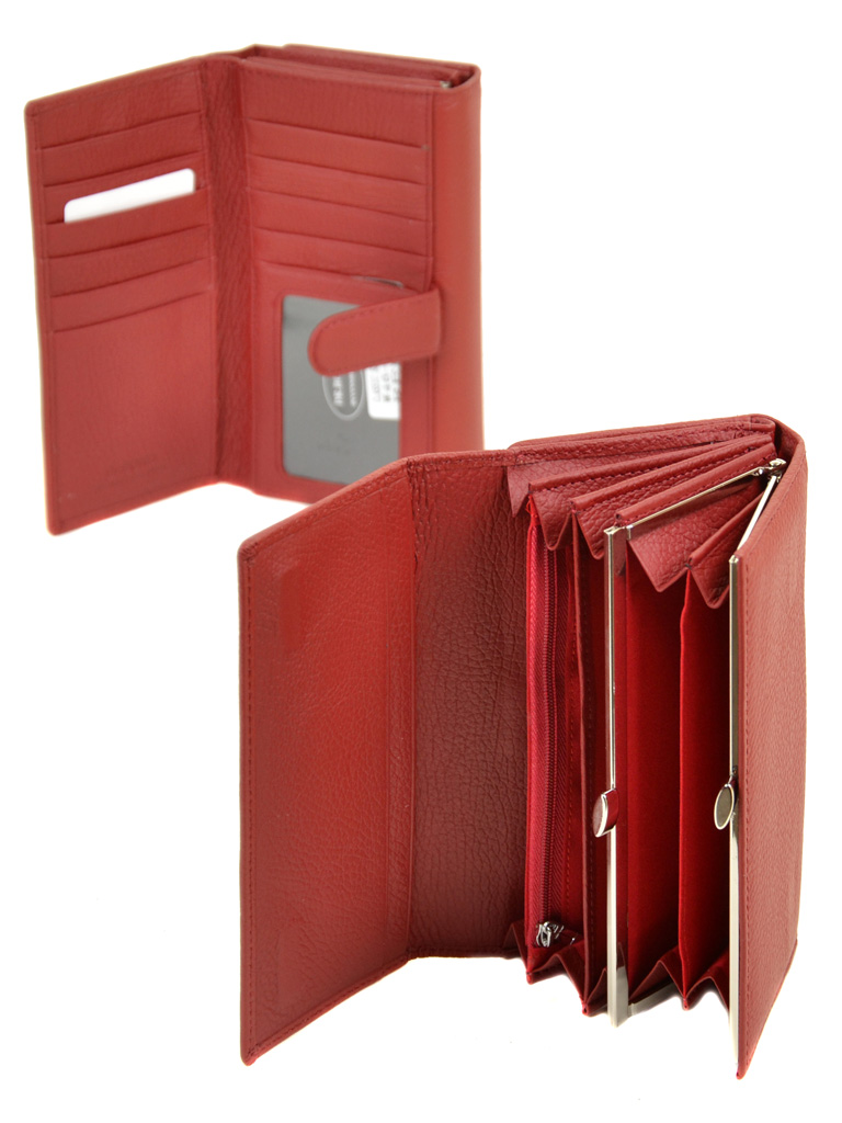 Кошелек Classic кожа DR. BOND W46-2 red - фото 4