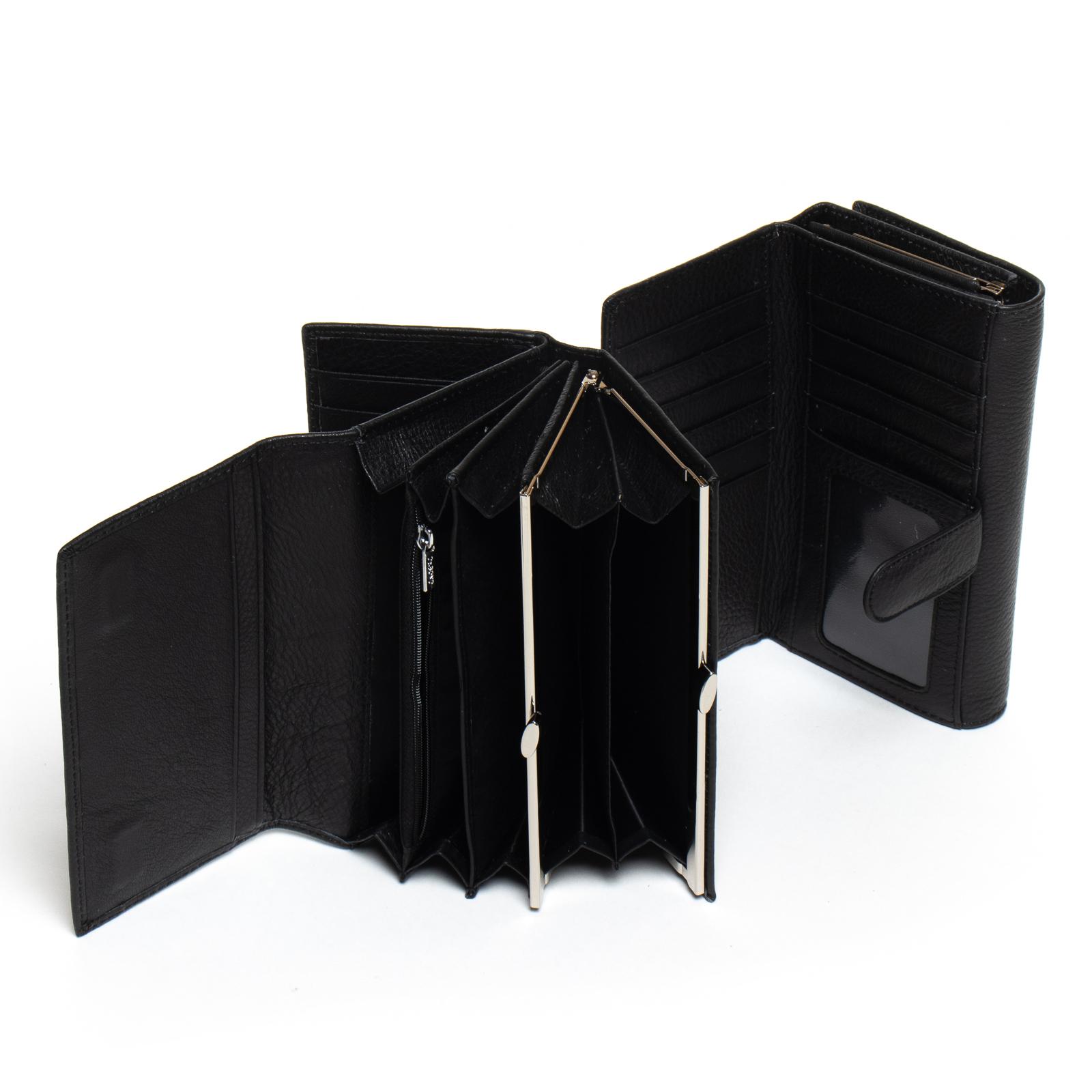 Кошелек Classic кожа DR. BOND W46-2 black - фото 4