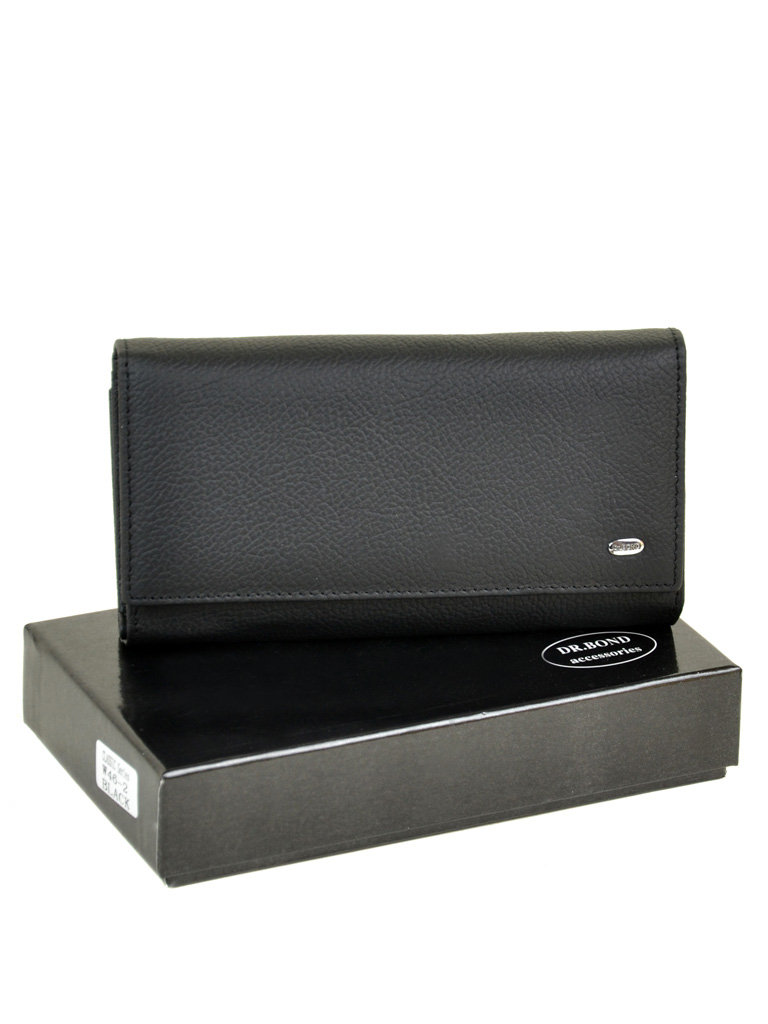 Кошелек Classic кожа DR. BOND W46-2 black