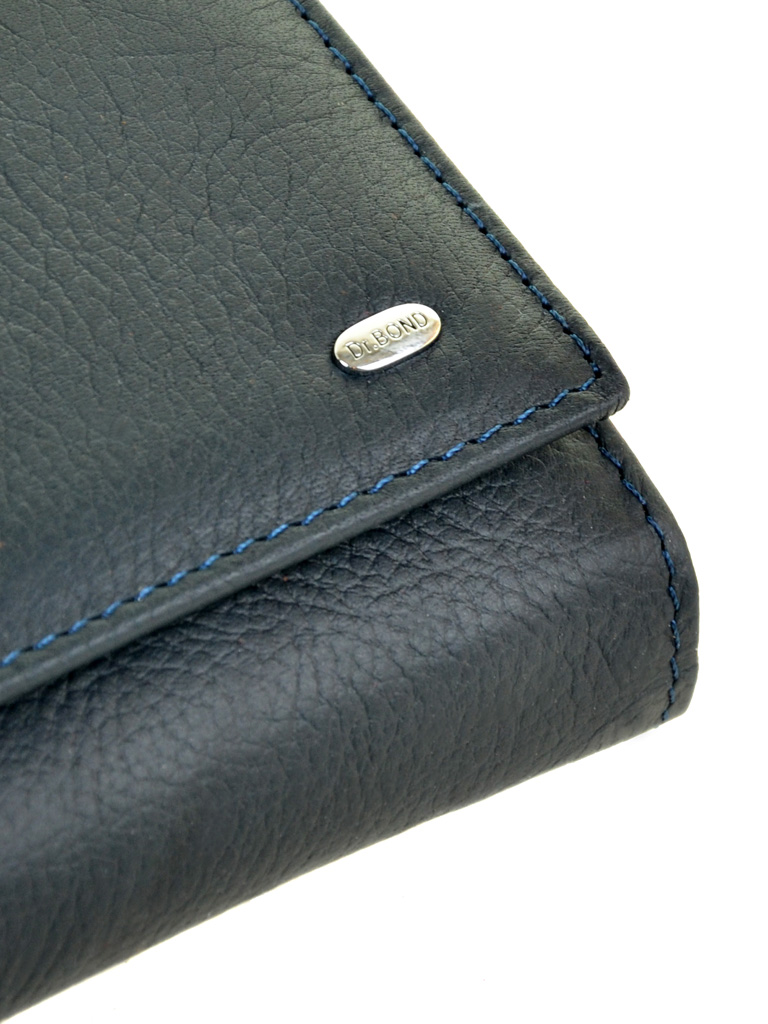 Кошелек Classic кожа DR. BOND W46-2 dark-blue - фото 3