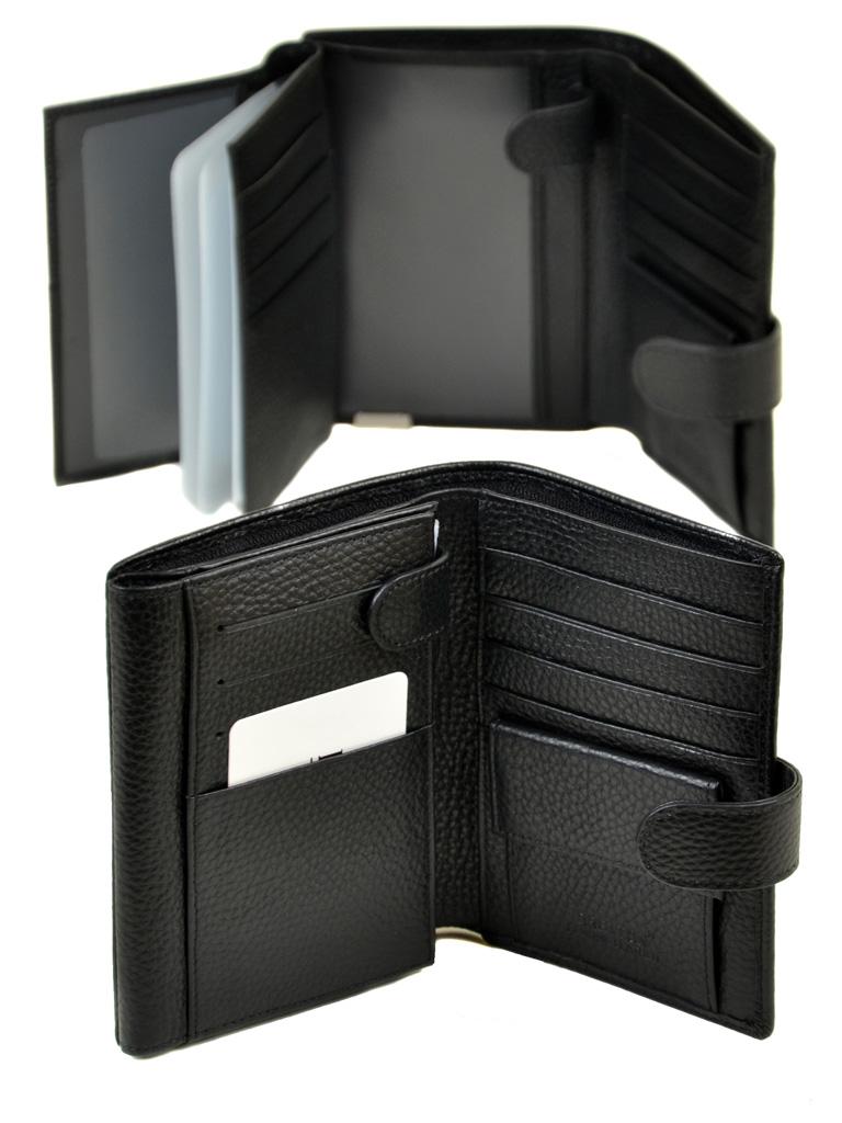 Кошелек CLASSIK. кожа BRETTON M5406 black