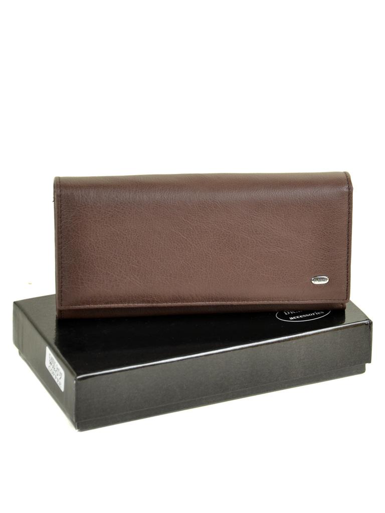 Кошелек Classic кожа DR. BOND W807 coffee