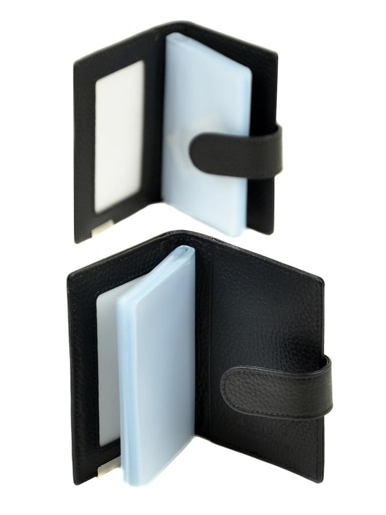 Кошелек CLASSIK. кожа BRETTON M4203 black - фото 4