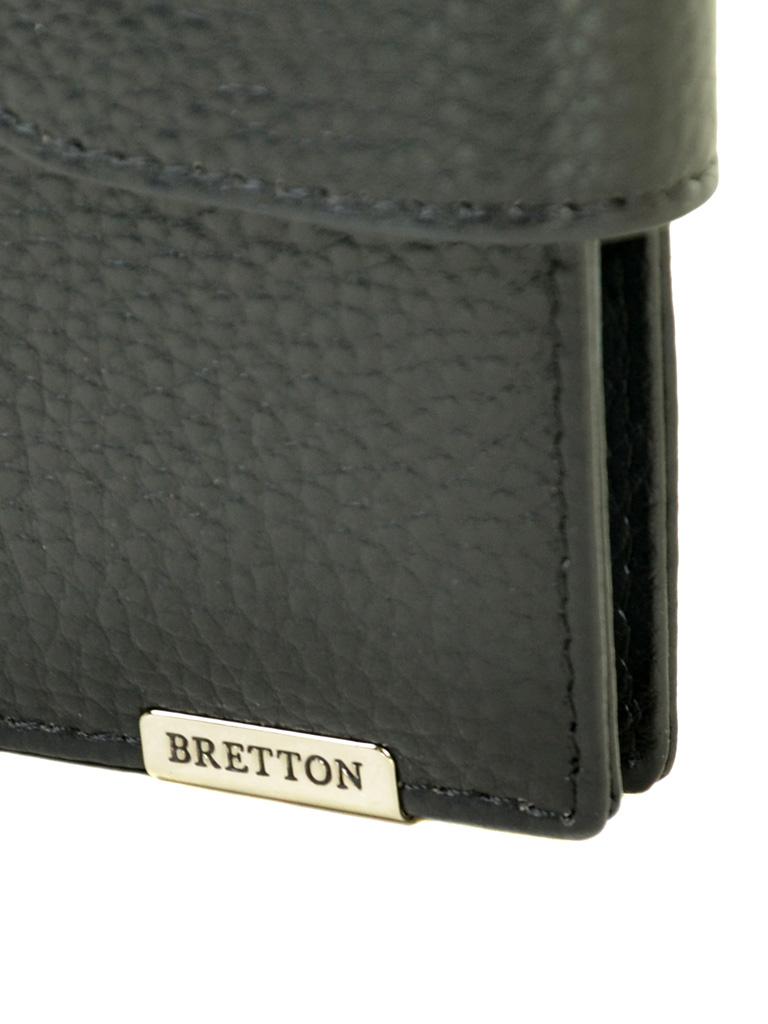 Кошелек CLASSIK. кожа BRETTON M4203 black - фото 3