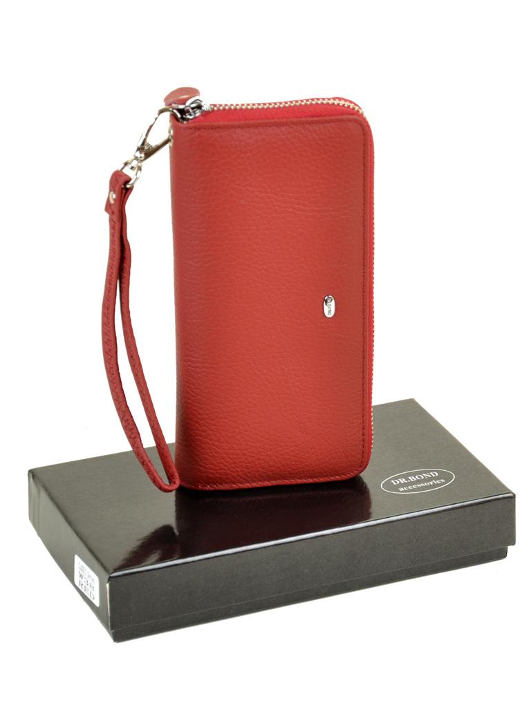 Кошелек Classic кожа DR. BOND W38 red