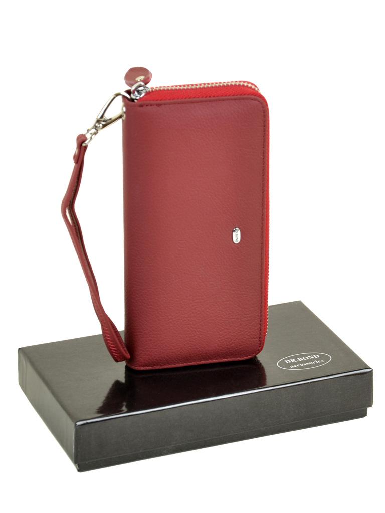 Кошелек Classic кожа DR. BOND W38 scarlet