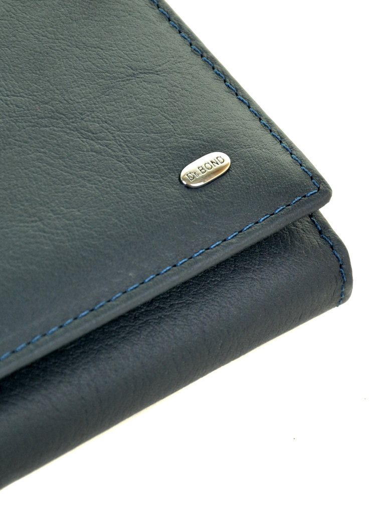 Кошелек Classic кожа DR. BOND W807-2 dark-blue