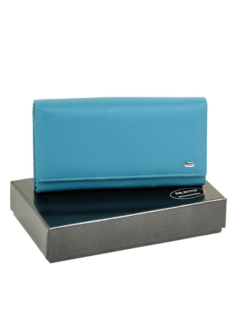 Кошелек Classic кожа DR. BOND W46 l-blue