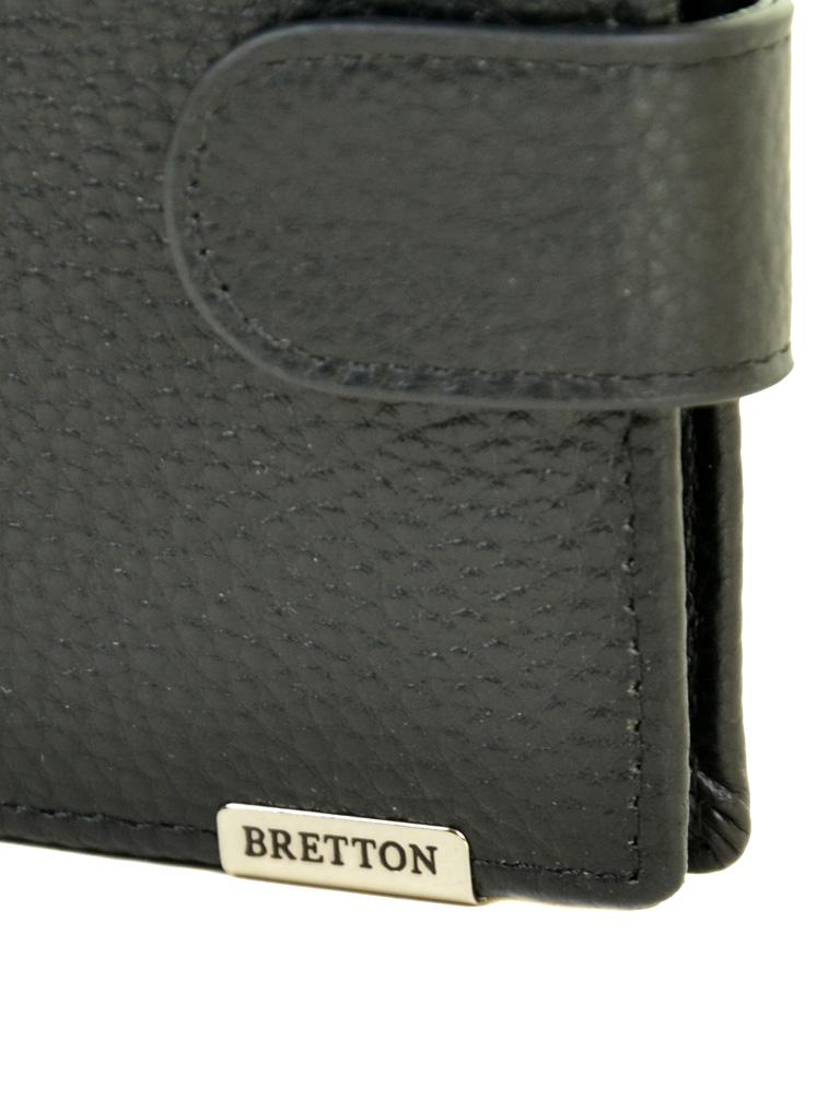 Кошелек CLASSIK. кожа BRETTON M3602 black - фото 3