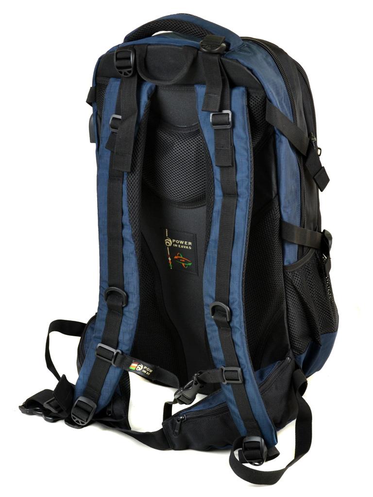 Рюкзак Городской нейлон Power In Eavas 1085 black-blue - фото 4