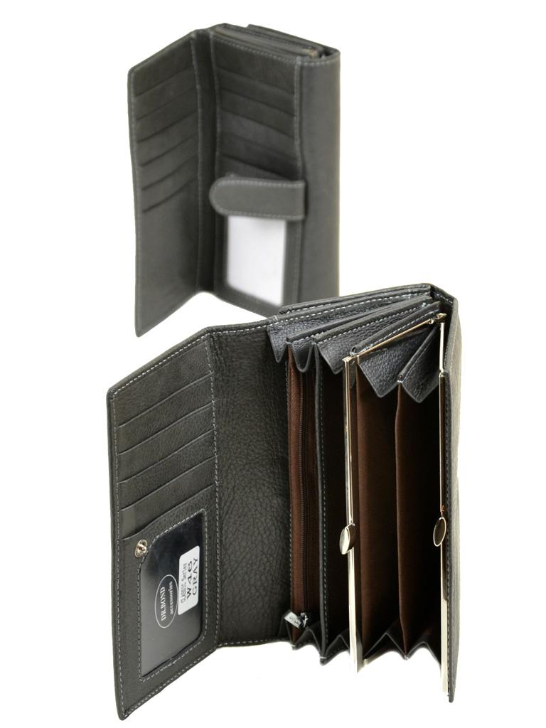 Кошелек Classic кожа DR. BOND W46 grey - фото 4