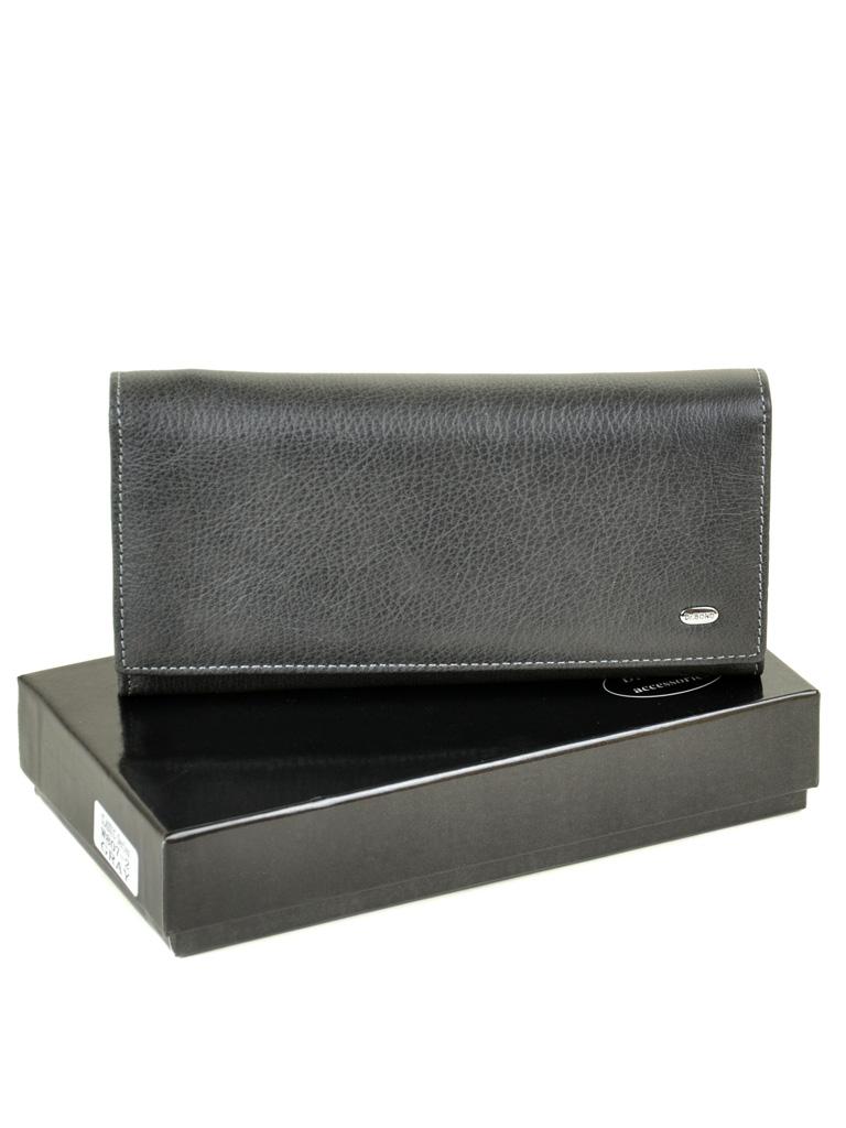 Кошелек Classic кожа DR. BOND W807-2 grey