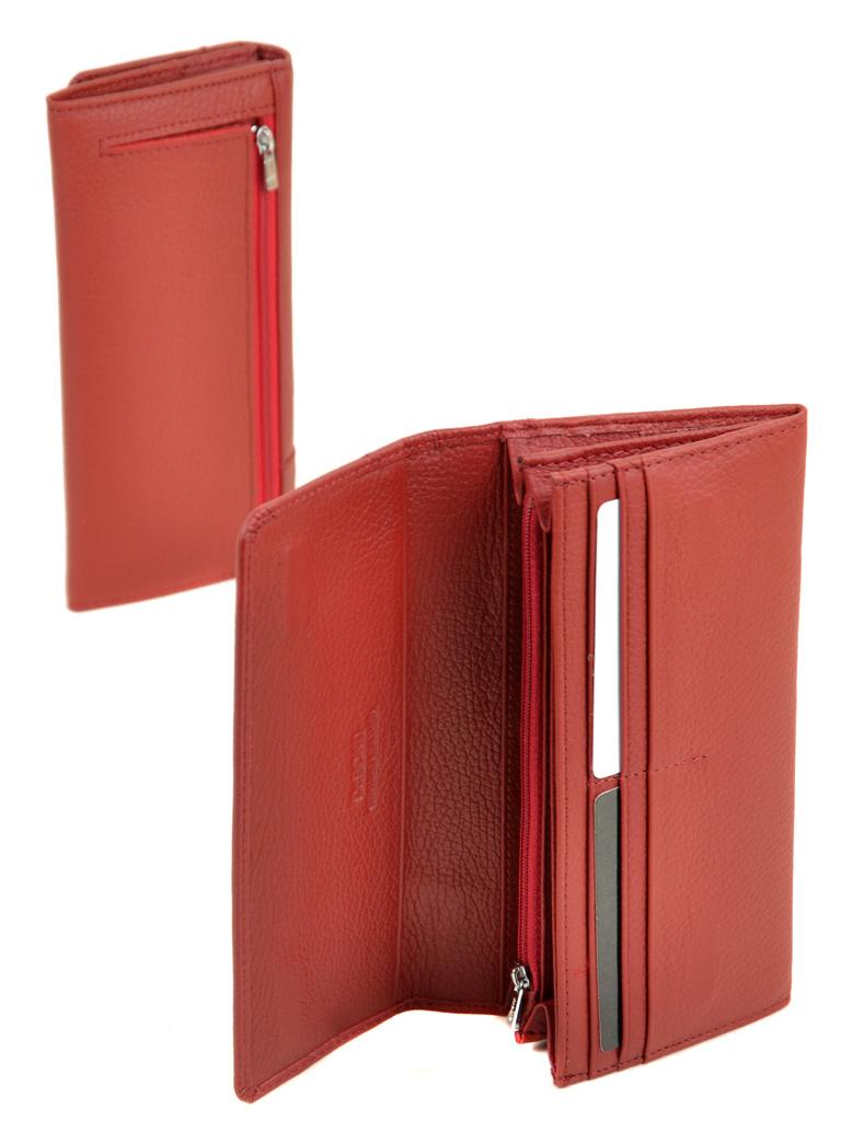 Кошелек Classic кожа DR. BOND WS-1-2 red