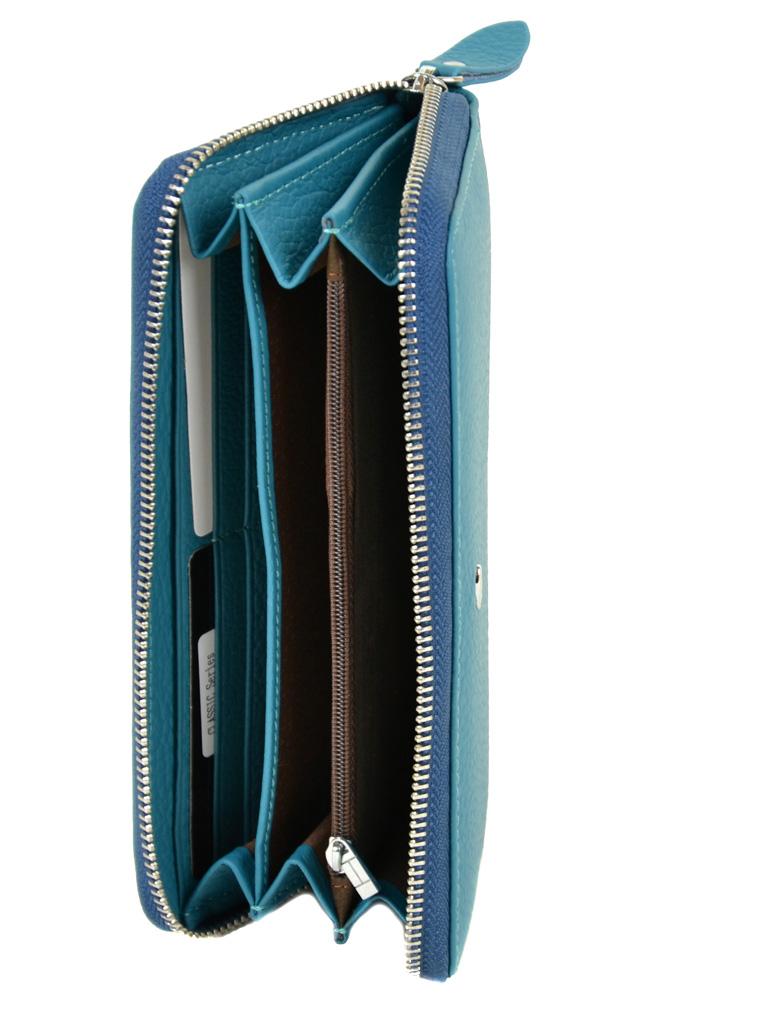 Кошелек Classic кожа DR. BOND W38 l-blue - фото 4