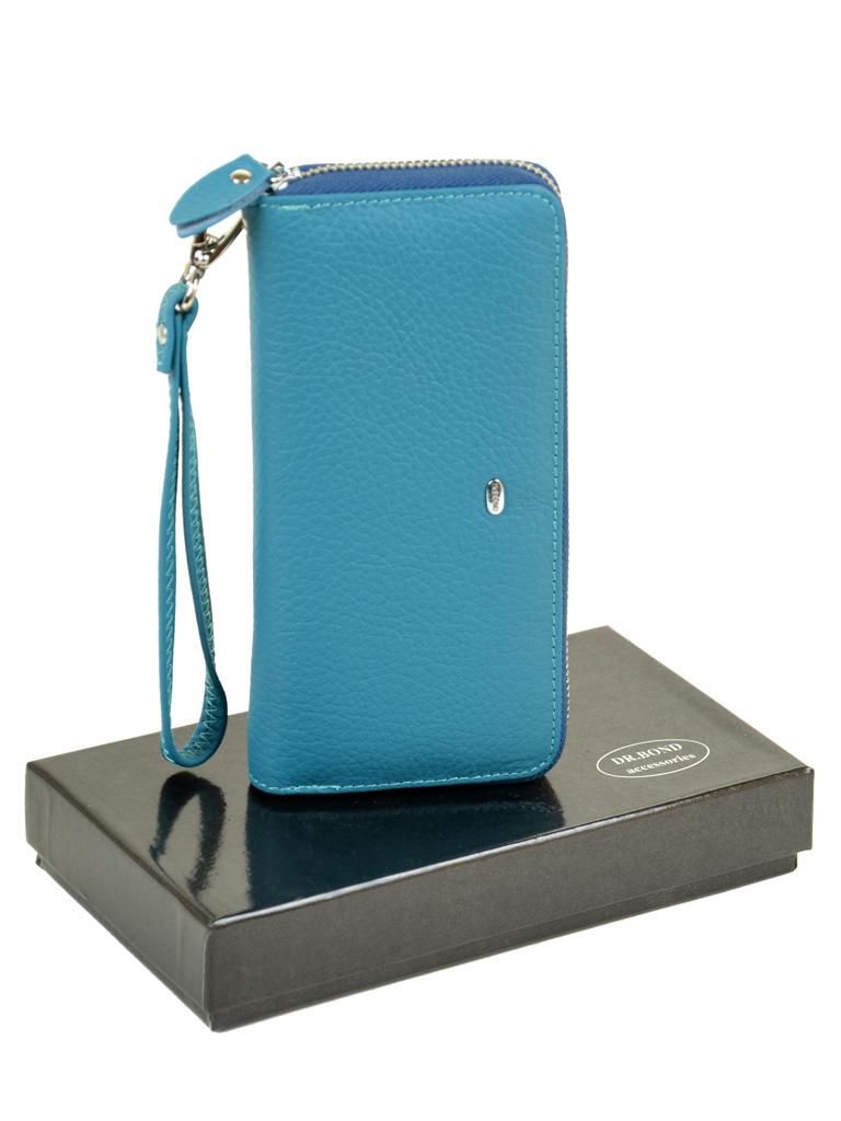 Кошелек Classic кожа DR. BOND W38 l-blue