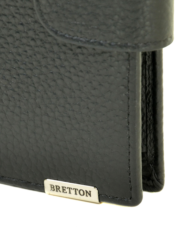 Кошелек CLASSIK. кожа BRETTON M4753 black - фото 3