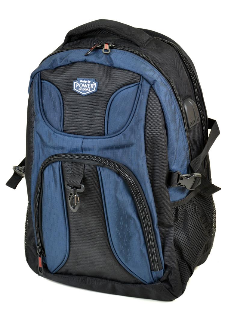 Рюкзак Городской нейлон Power In Eavas 7223 black-blue