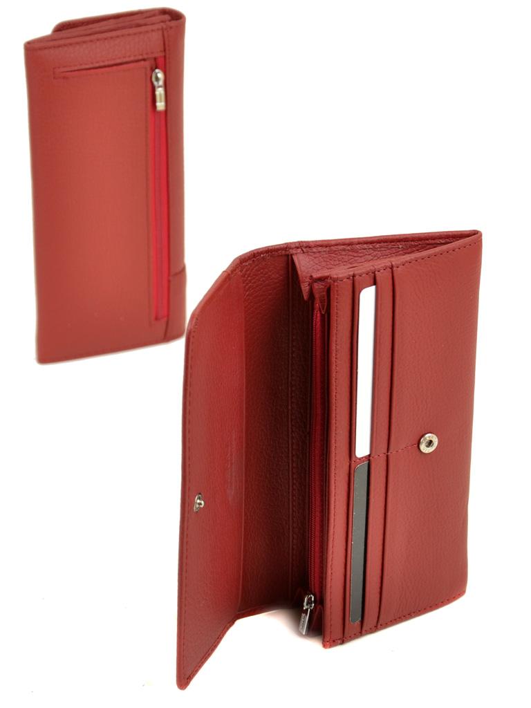 Кошелек Classic кожа DR. BOND WS-1 red