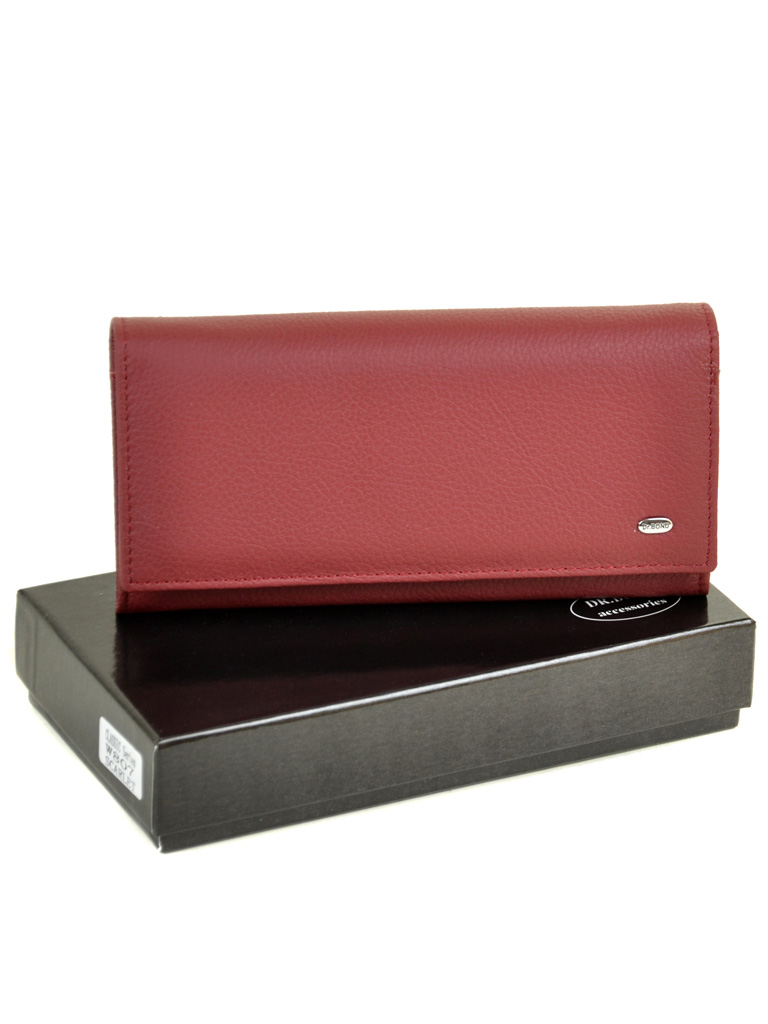 Кошелек Classic кожа DR. BOND W807 scarlet