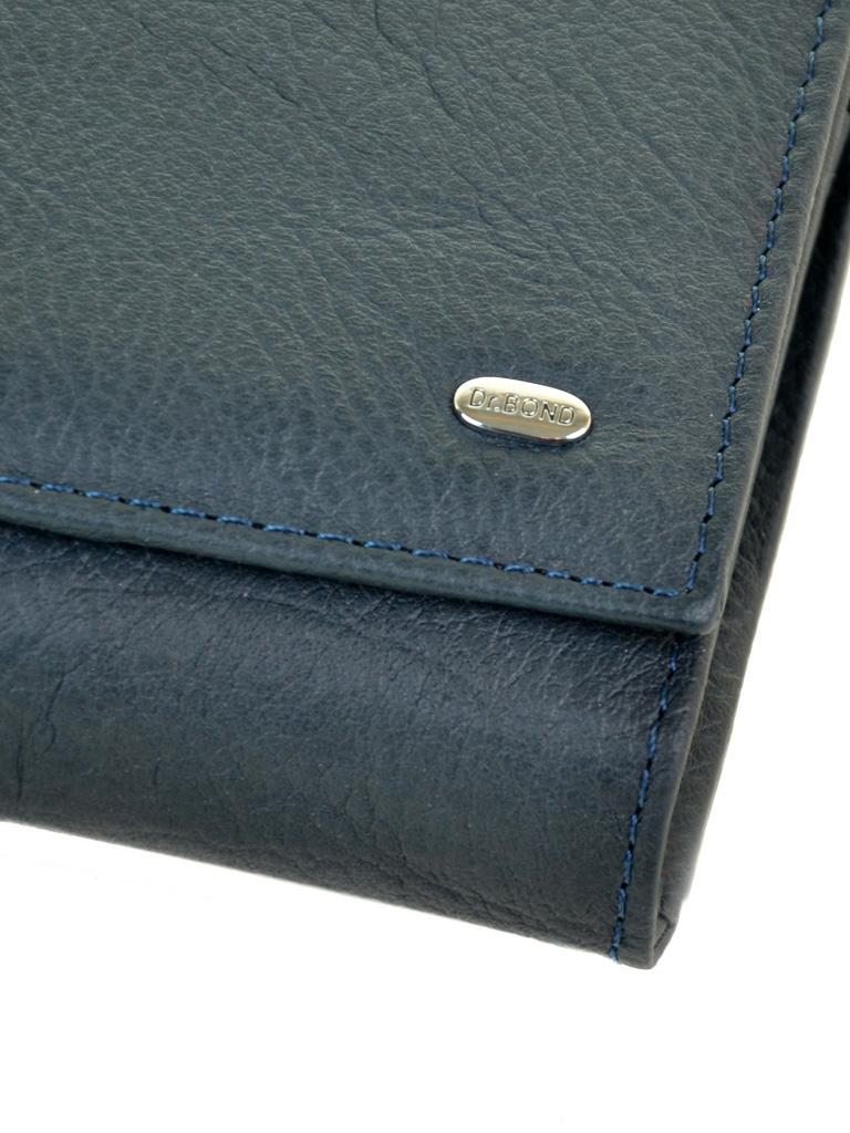 Кошелек Classic кожа DR. BOND W46 dark-blue - фото 3