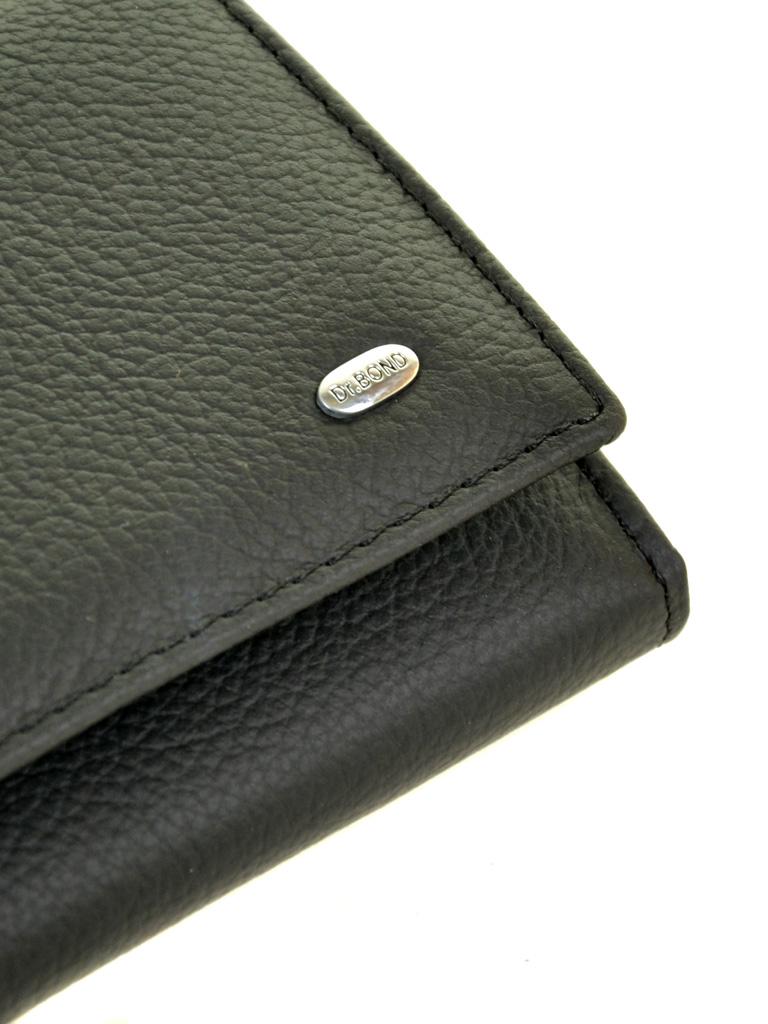 Кошелек Classic кожа DR. BOND W807 black