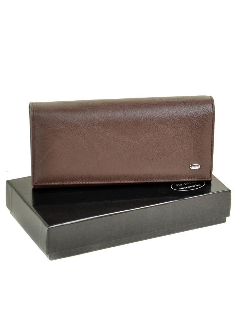 Кошелек Classic кожа DR. BOND W807-2 coffee