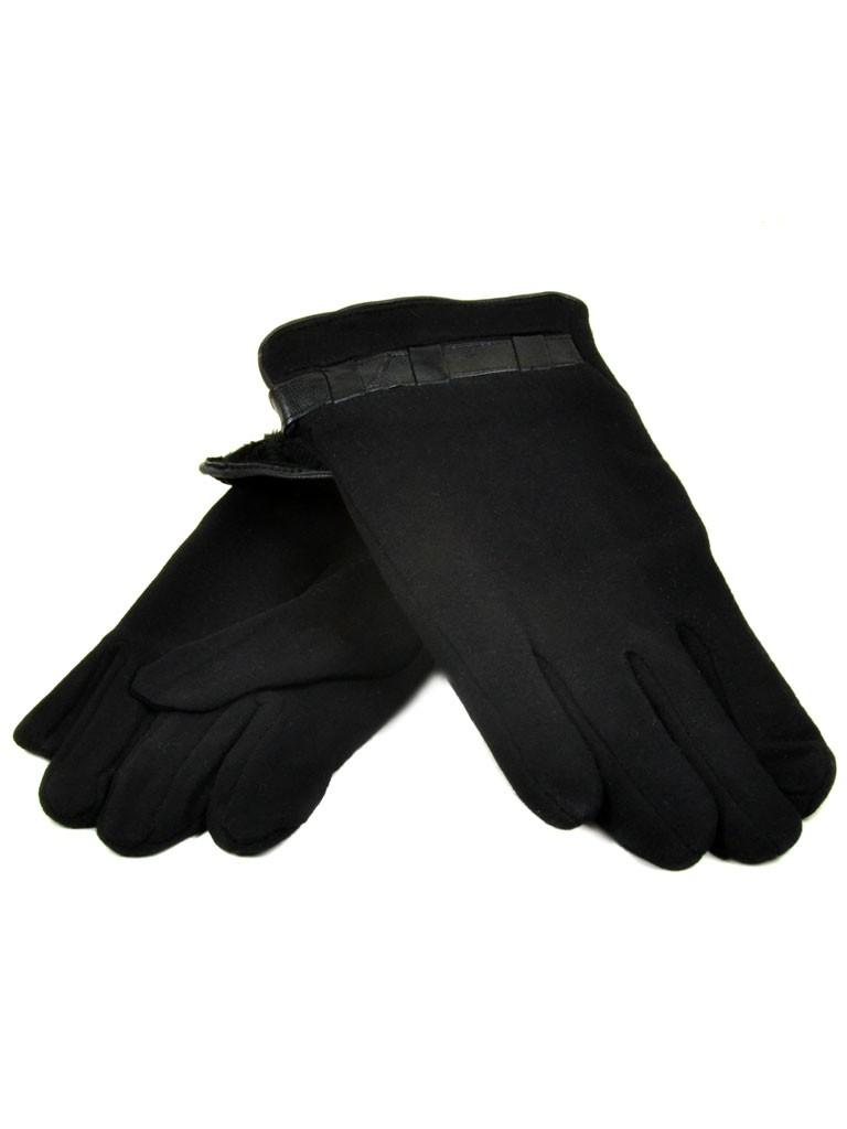 Перчатка Мужская стрейч Flagman M51 ПЛ мод-1 black