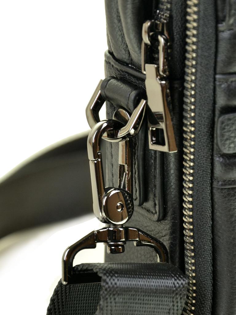 Сумка Мужская Планшет кожаный BRETTON BE 407-42 black - фото 3