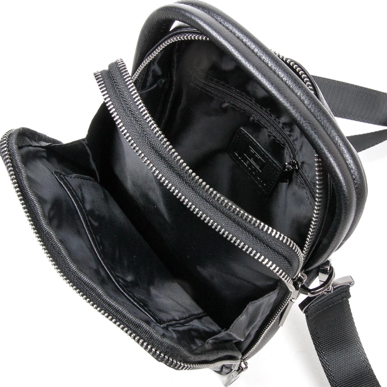 Сумка Мужская Планшет кожаный BRETTON BE 407-42 black - фото 5