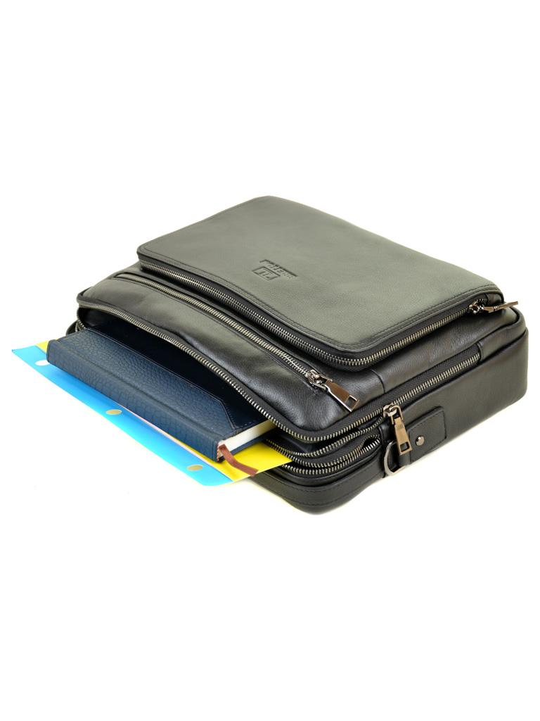 Сумка Мужская Портфель кожаный BRETTON BE 3492-8 black