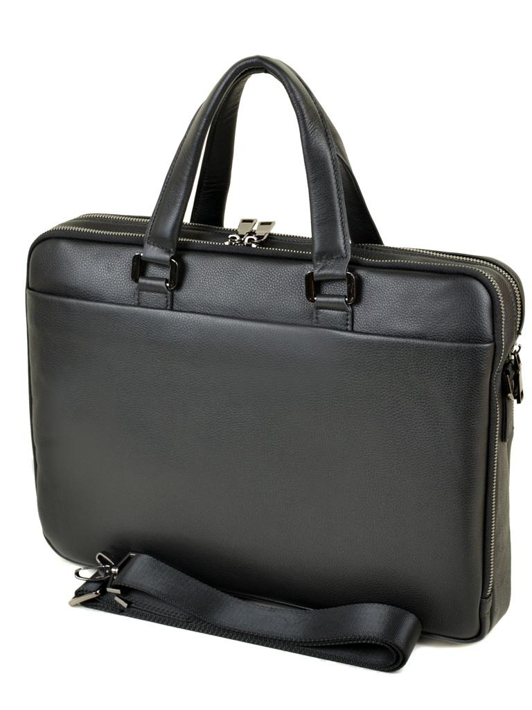 Сумка Мужская Портфель кожаный BRETTON BE 5359-1 black - фото 4