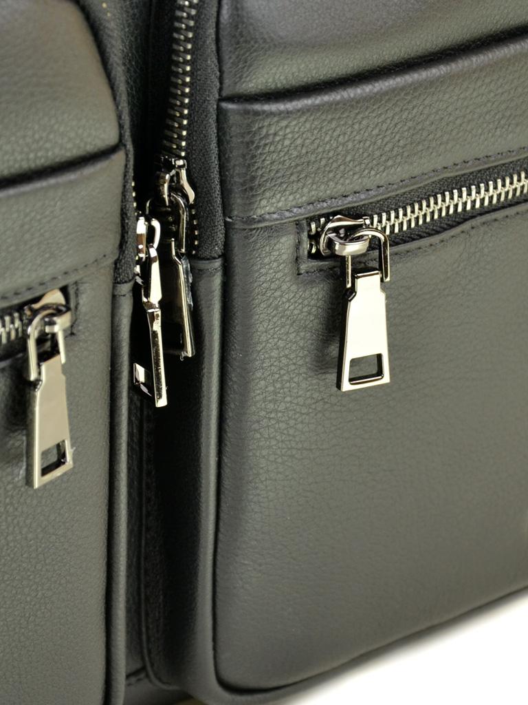 Сумка Мужская Портфель кожаный BRETTON BE 5359-1 black - фото 3