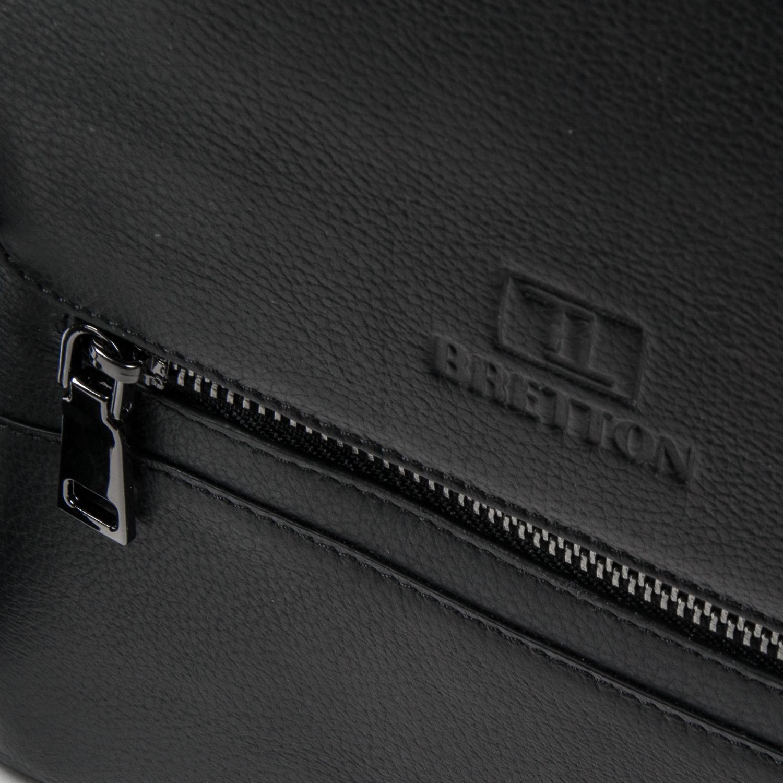 Сумка Мужская Планшет кожаный BRETTON BE 5432-4 black - фото 3