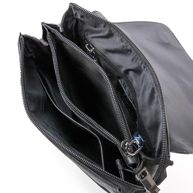 Сумка Мужская Планшет кожаный BRETTON BE 5432-4 black - фото 5