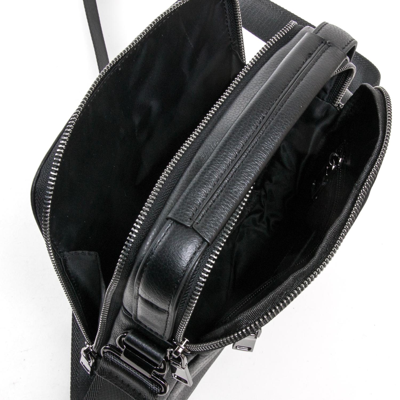 Сумка Мужская Планшет кожаный BRETTON BE 1615-4 black - фото 5
