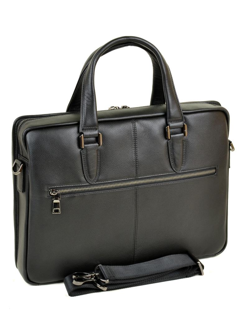 Сумка Мужская Портфель кожаный BRETTON BE 411-1 black - фото 4