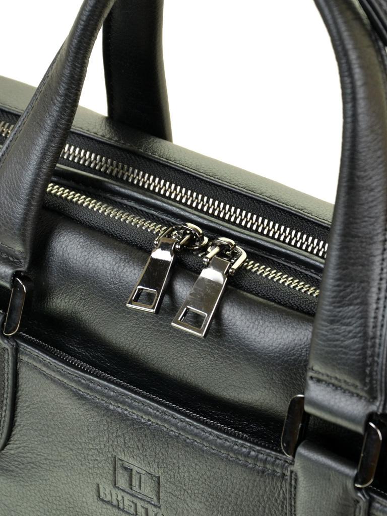 09a5aa861656 Сумка Мужская Портфель кожаный BRETTON BE 411-1 black оптом в Украине
