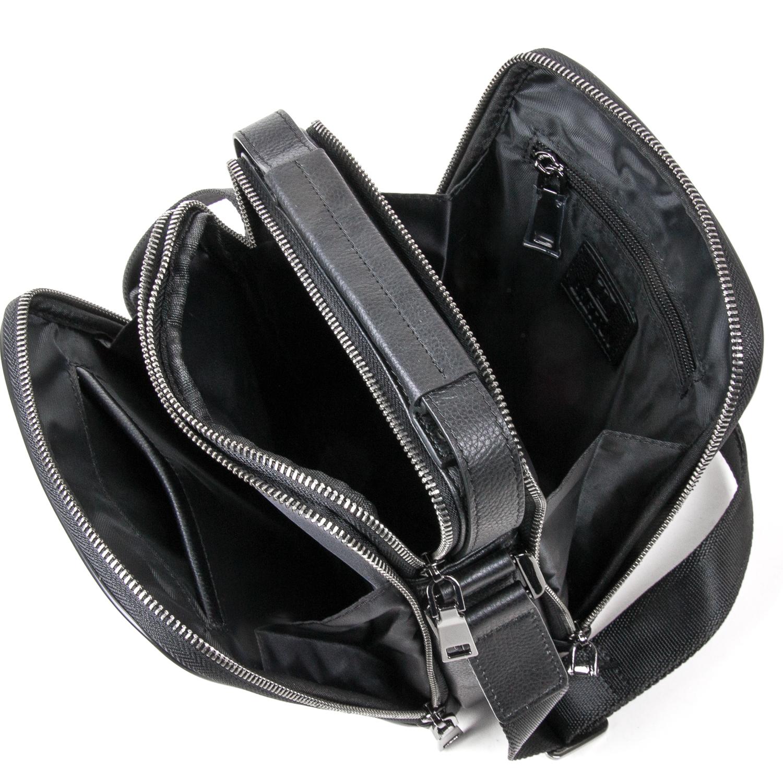 Сумка Мужская Планшет кожаный BRETTON BE 5078-5 black - фото 5