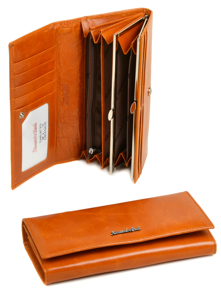 Уценка Кошелек AL-paoli W1-V orange