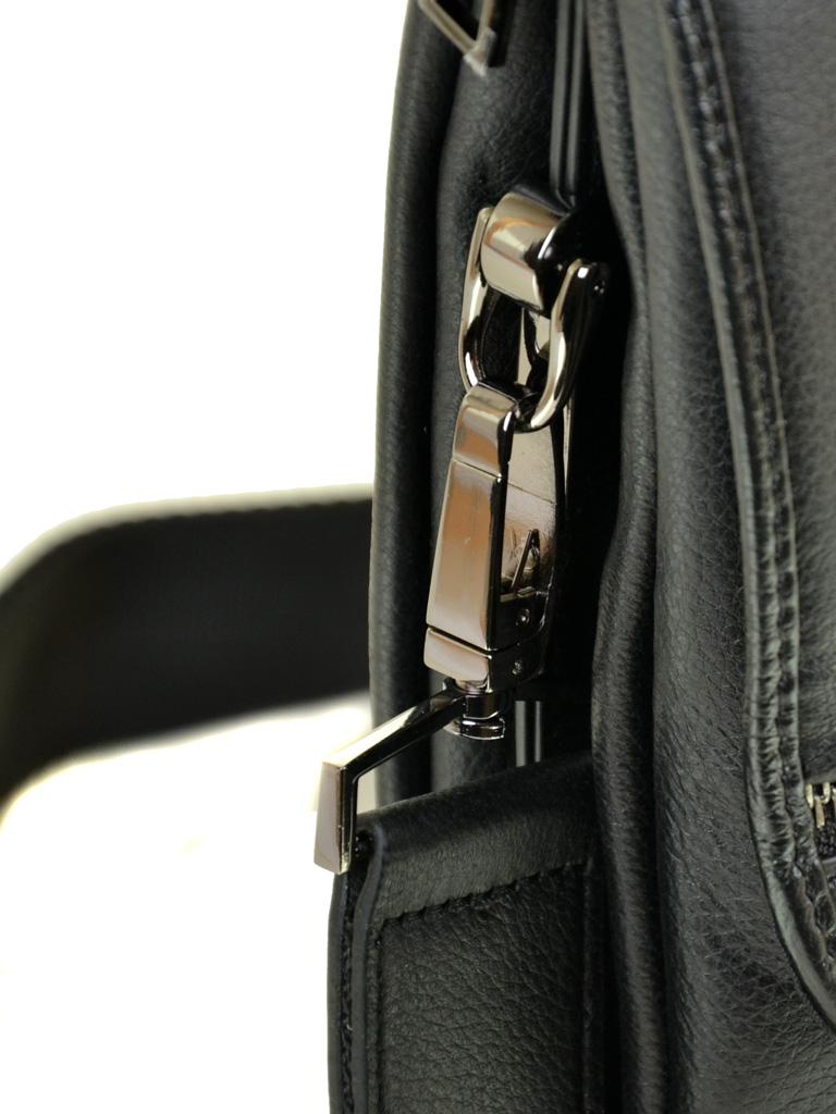 Сумка Мужская Планшет кожаный BRETTON BE 5456-3 black - фото 3