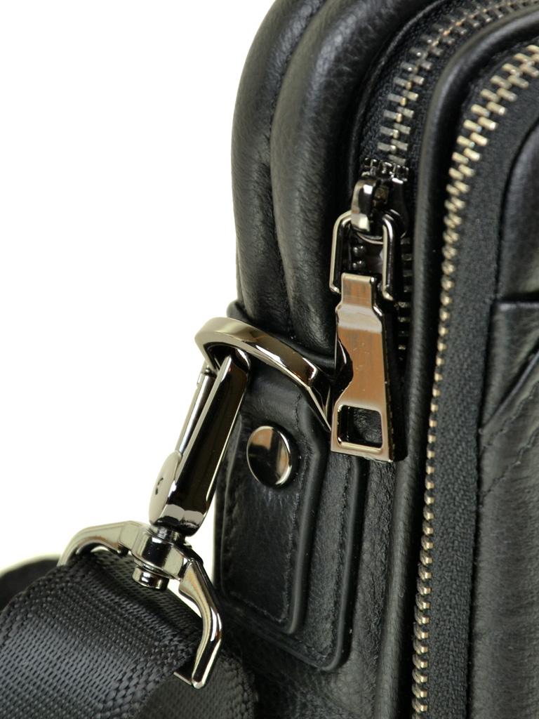 Сумка Мужская Планшет кожаный BRETTON BE 411-5 black - фото 3