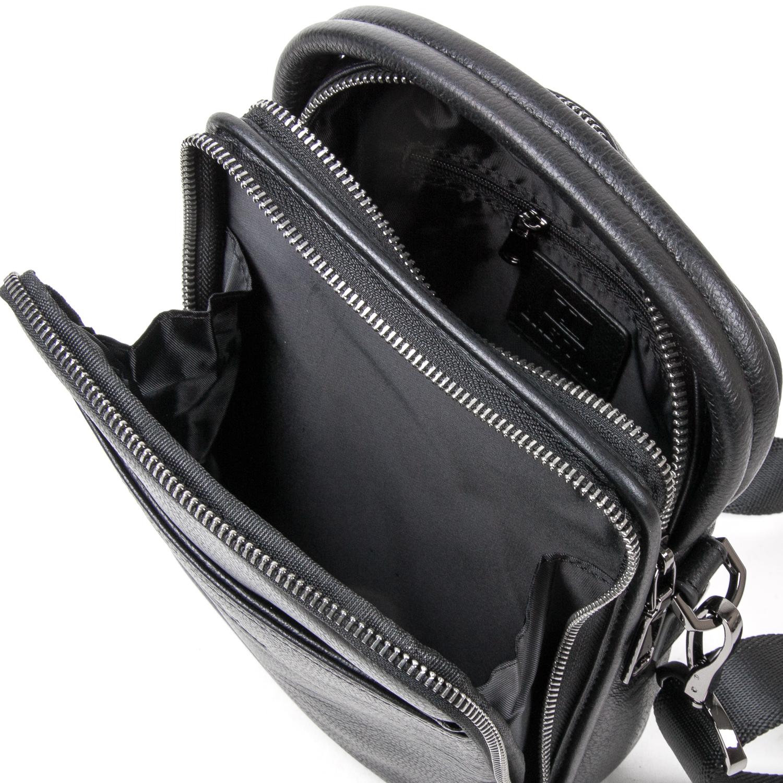 Сумка Мужская Планшет кожаный BRETTON BE 411-5 black - фото 5