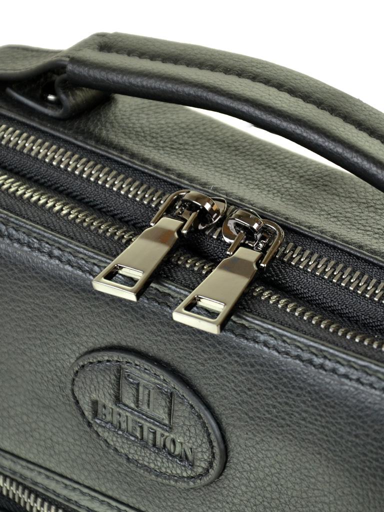 Сумка Мужская Планшет кожаный BRETTON BE 5415-3 black - фото 3