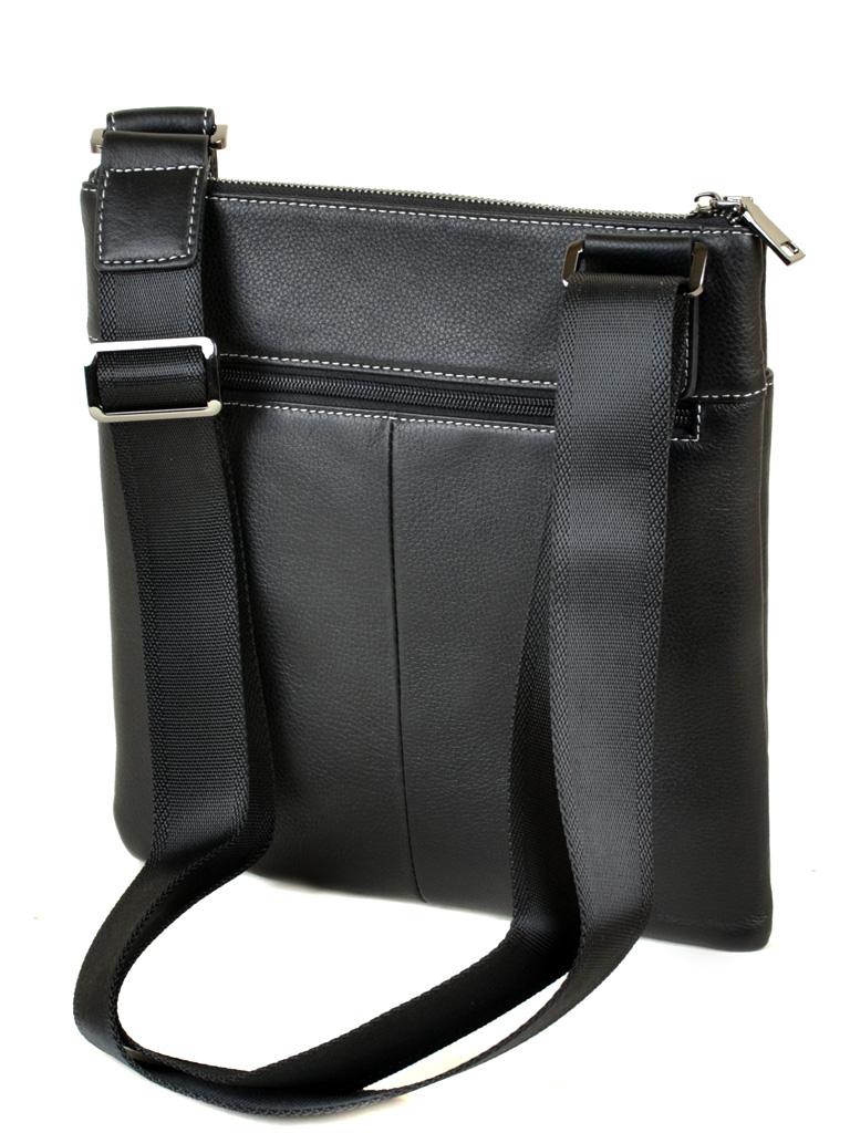 Сумка Мужская Планшет кожаный BRETTON BE 3504-6 black - фото 3