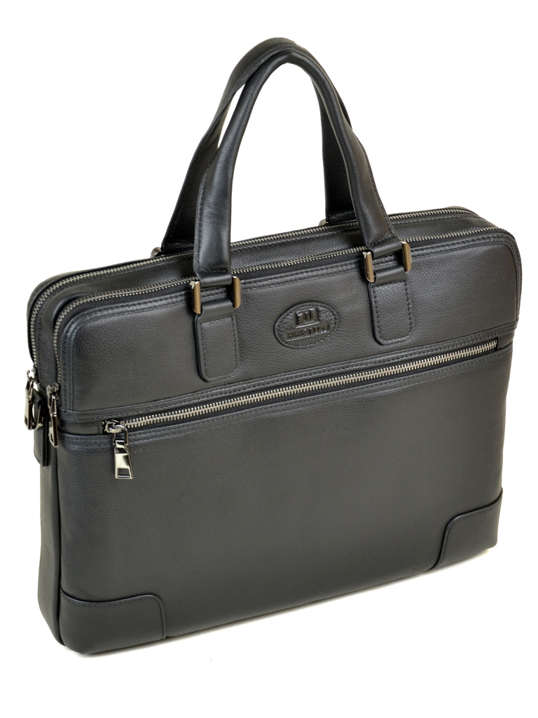Сумка Мужская Портфель кожаный BRETTON BE 5415-1 black