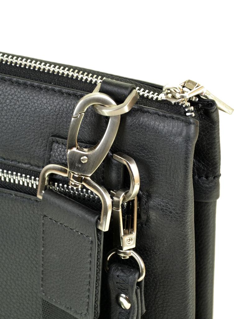 Сумка Мужская Планшет кожаный BRETTON BE 9522-1 black - фото 4