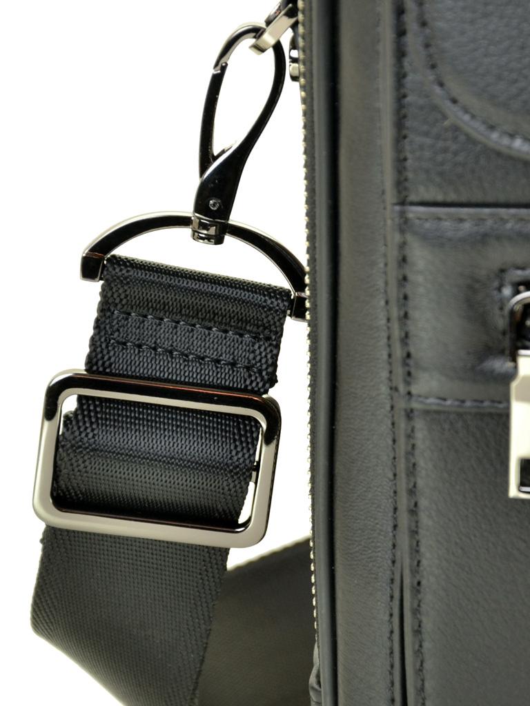 Сумка Мужская Планшет кожаный BRETTON BE 2003-4 black - фото 3