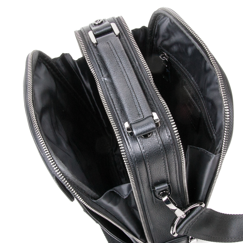 Сумка Мужская Планшет кожаный BRETTON BE 2003-4 black - фото 5
